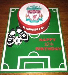 For my gorgeous nephew who is a Liverpool fan , this was fun to make