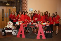 Thank you Alpha Sigma Alpha for your support of the work we are doing!