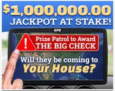 Sweepstakes - $1,OOO,OOO.OO Jackpot at Stake!