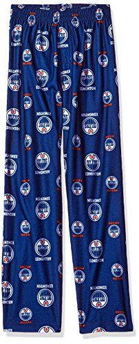 NHL teen-boys NHL Kids & Youth Boys Team Logo Lounge Pant  http://allstarsportsfan.com/product/nhl-teen-boys-nhl-kids-youth-boys-team-logo-lounge-pant/?attribute_pa_teamname=edmonton-oilers&attribute_pa_size=medium-10-12&attribute_pa_color=dark-royal  Offically licensed by the NHL Team logo all over Designed as sleepwear