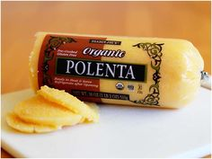 4 Things To Do With Tube Polenta - I have been wanting to work with polenta for some time and finally bought a tube this weekend.  Here are some great ideas of how to prepare it.  I think I might try to grill it tonight!