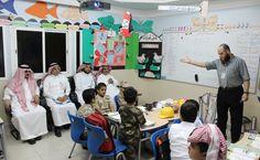 زيارة مدير عام التعليم بالمنطقة الشرقية لابتدائية رواد السلام الأهلية