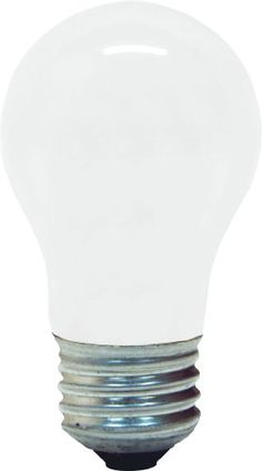 "Shop for GE 44410 ""Ceiling Fan"" Bulb Medium Soft White. Get free delivery On EVERYTHING* Overstock - Your Online Light Bulbs & Lighting Accessories Store!"