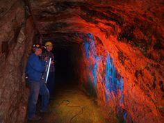 См Самой большой в мире коллекции флуоресцентного Rocks | Геология