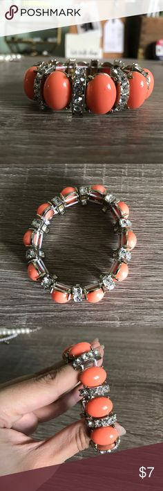 Banana Republic Coral Stretch Bracelet Banana Republic coral stretch bracelet. Banana Republic Jewelry Bracelets