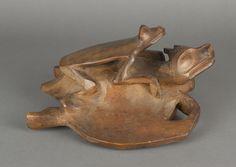 Tlingit carved hat, 1850-1880. Portland Art Museum. @briarpatched
