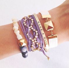 Want the purple, diamond bracelet <3