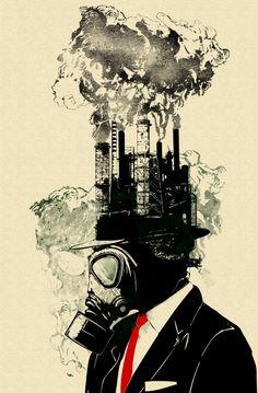 """Businessman"" Art Print by Sebastian Govino on Society6."