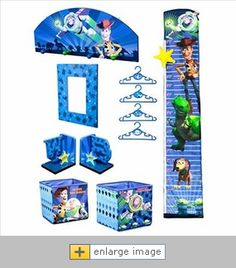 Delta Toy Story 10 Piece Room Decor In A Box