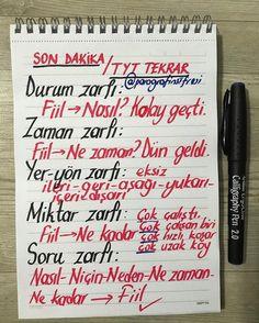 Fotoğraf açıklaması yok. Turkish Language, Language And Literature, Calligraphy Pens, Study Motivation, Bullet Journal, Notes, Learning, School, Reading
