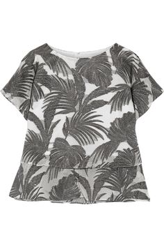 Shop on-sale Co Layered metallic jacquard top. Browse other discount designer Tops & more on The Most Fashionable Fashion Outlet, THE OUTNET.COM