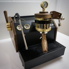 Check out these beautiful custom La Marzocco GS3 espresso machines. Modified to perfection by master craftsman to create one of a kind pieces.