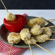 Pork balls on a stick recipe