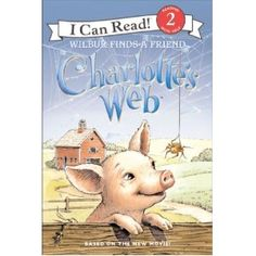 Books: Charlotte's Web: Wilbur Finds A Friend (I Can Read Book (Paperback) by Jennifer Frantz Reading Programs For Kids, Summer Reading Program, Kids Reading, Summer Activities For Kids, Summer Kids, I Can Read Books, Charlottes Web, Aleta, Animal Books