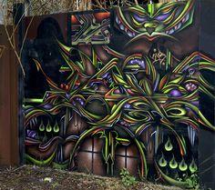 Graffiti Outside The Treforest Tin Works by Stuart Herbert, via Flickr