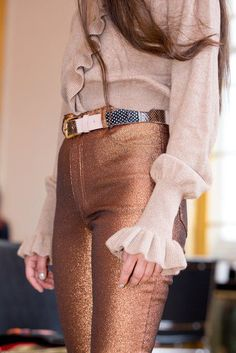 thank u rachel comey for bronze pants | ban.do
