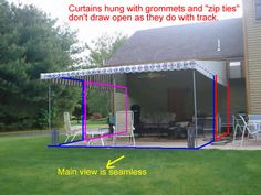 Mosquito netting with retractable awning ($600 for netting ...