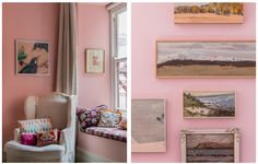 The Design Files steps inside Chrissie Jeffery's, No Chintz Owner and Interior Decorator, home. Decor, Interior Decorating, Interior, Gallery Wall, Apartment, Home Decor, Inside, Step Inside, House Colors