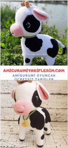 Amigurumi Ice Free Recipe - My Amigurumi Recipes Crochet Amigurumi Free Patterns, Crochet Toys, Giraffe Crochet, Kawaii Crochet, Pattern Library, Baby Knitting, Crochet Projects, Mickey Mouse, Tulum