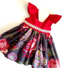Hey, I found this really awesome Etsy listing at https://www.etsy.com/listing/249240532/christmas-dress-girls-red-dress-boutique