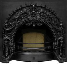 Victorian:  #Victorian Cast Iron Fireplace Insert.