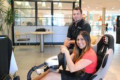 Sebrina with event vendor Hamilton Racing