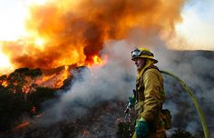 Los Angeles and Southern California fire photos-Los Angeles Times