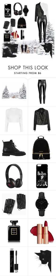 """""""snow look😎😎"""" by nemoibrahim ❤ liked on Polyvore featuring Paige Denim, Giuseppe Zanotti, MICHAEL Michael Kors, Beats by Dr. Dre, Torrid, CLUSE, Chanel and Christian Dior"""
