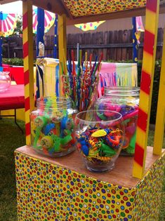 Circus/Carnival Birthday Party Ideas | Photo 19 of 23 | Catch My Party