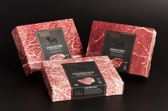 Desiderio Rodríguez - Carnes Selectas on Packaging of the World - Creative Package Design Gallery Cake Packaging, Food Packaging Design, Packaging Design Inspiration, Brand Packaging, Carnicerias Ideas, Meat Box, Meat Packing, How To Cook Steak, Dog Food Recipes