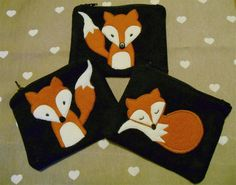 felt fox pattern - Google Search