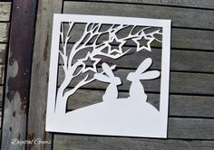 Check out this item in my Etsy shop https://www.etsy.com/uk/listing/265116907/rabbit-and-tree-whimsical-papercut-svg