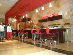 nail salon interior design - Google Search