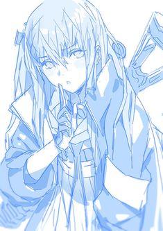 Anime Military, Military Art, Reference Manga, Emo Anime Girl, Girls Frontline, Anime Kunst, Character Design Animation, Anime Sketch, Cute Drawings
