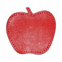 knie lappen in een vorm van een appel