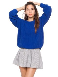 American Apparel jumper and skirt