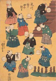 歌川国芳 うたがわ くによし 歌川 国芳とは、江戸時代末期の浮世絵師。