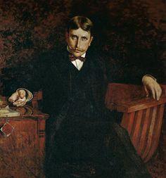 Orrin Peck (American, 1860-1921) : William Randolph Hearst, 1921.