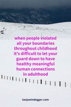 when people violate all your boundaries throughout childhood it's difficult to let your guard down to have healthy meaningful human connections in adulthood Ptsd Awareness, Mental Health Awareness, Mental Health Illnesses, Mental Illness, Trauma Therapy, Complex Ptsd, Feeling Hopeless, Thing 1, Human Connection