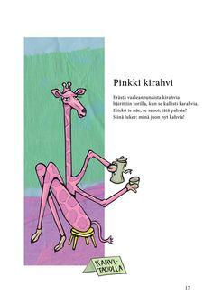 Pinkki kirahvi (Jari Tammi: Kakkikirja, Pikku-idis 2016)