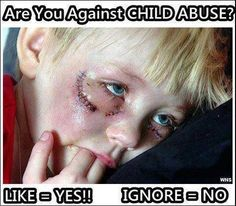 Please help stop the child abuse