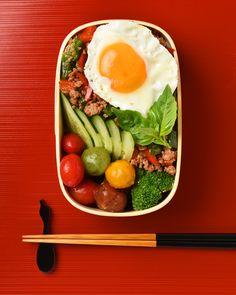 ガパオ弁当 / Gapao Bento お弁当を作ったら #edit_jp で投稿してね!