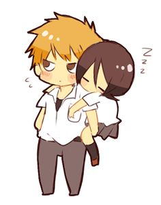 Ichigo E Rukia, Bleach Couples, Shinigami, Bleach Anime, Pikachu, Strawberry, Death, Ships, Star