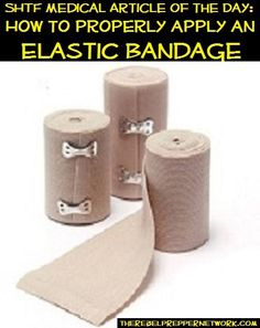 SHTF Medical Article of the Day: Elastic Bandage