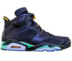 Authentic Jordan Retro 6 Venom Green Speckle  For Sale Online Free Shipping http://www.theblueretro.com/