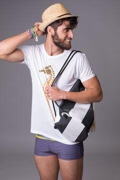 Tshirt-bag-hat-bracelet by Locaplaya