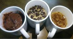 Delicious one minute mug cakes for all the lazy dessert lovers out there. Coffee Cake, Nutella Cake and Vanilla Funfetti Cake. Greek Recipes, Desert Recipes, Nutella Cake, Funfetti Cake, Blended Coffee, Coffee Recipes, Easy Cooking, Coffee Cake, Let Them Eat Cake