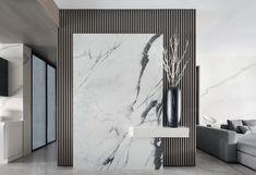 Foyer Design, Lobby Design, Home Room Design, Wall Design, Living Room Designs, House Design, Home Entrance Decor, House Entrance, Modern Apartment Design