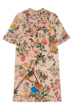 Шелковое платье Gucci (фото)