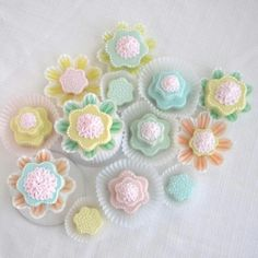 Floral cupcake wrappers